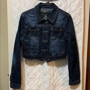 Wallflower cropped jean jacket